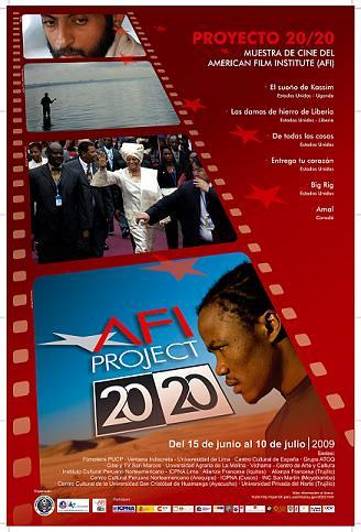 "Segunda Muestra del American Film Institut – Proyecto 20/20 ""AFI 2008?"