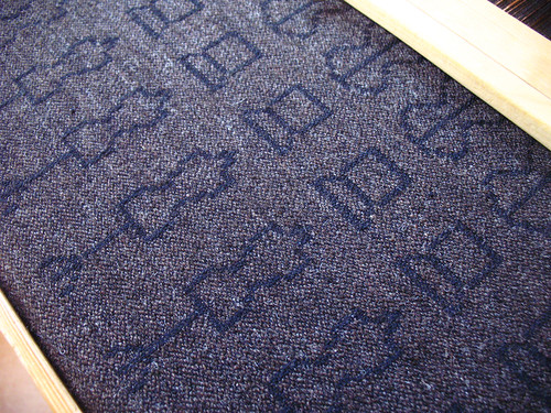 damask weave nr2 - detail