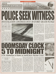 WATCHMEN: Metro newspaper as The New Frontiers...