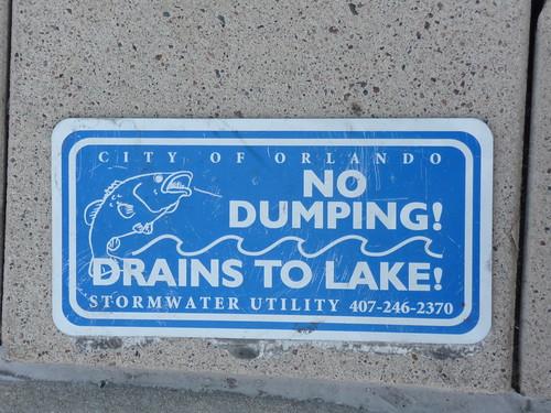 Do NOT dump!
