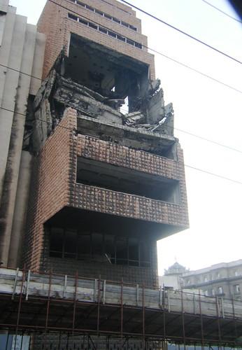 Different View of the Building - B. Kralovec Photo April 2009