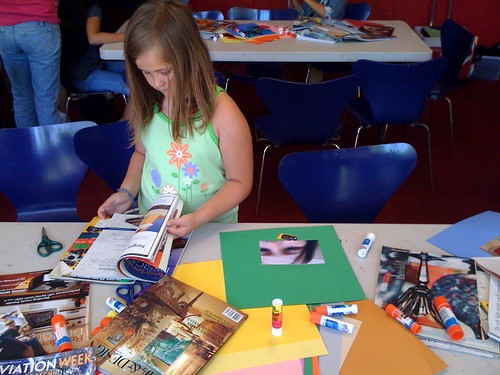 m working on her collage