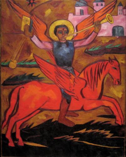 Religious Composition; Archangel Michael