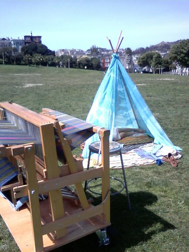 Loom and Teepee today!