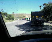 Thats a lot of trucks waiting to unload trash.