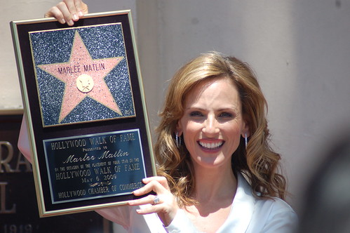 Marlee Matlin: Sharon Graphics