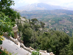 View of the Quadisha Valley from the Khalil Gi...