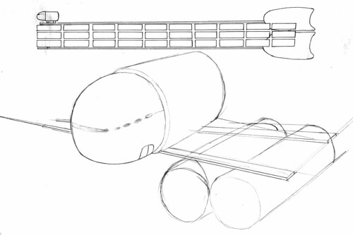 ship concept sketch 2