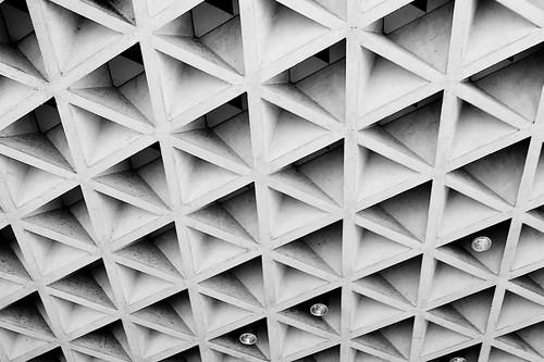 Geometric Roof Underside