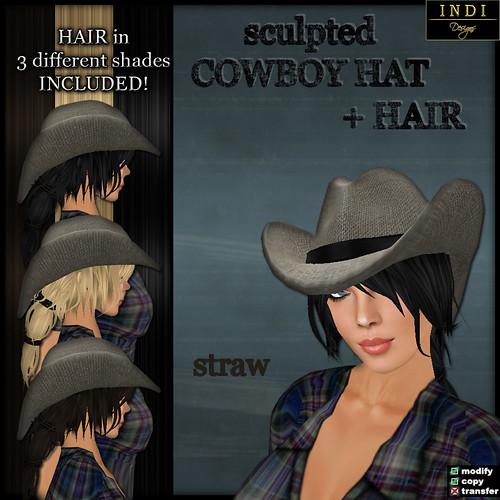 Cowboy Hat straw