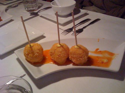 Shrimp Lollipops