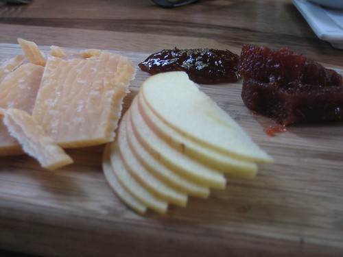 """Musty"" balarina cheese and quince paste!"