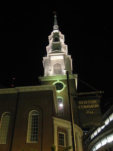 Church near Boston Common