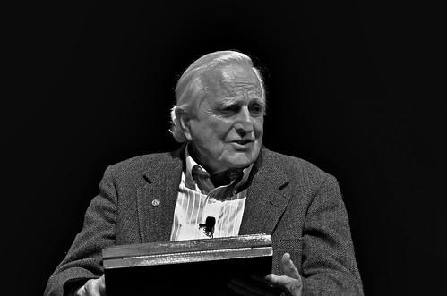 Doug Engelbart honored as NMC Fellow