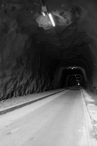 Túnel iluminado (¡por fin!)