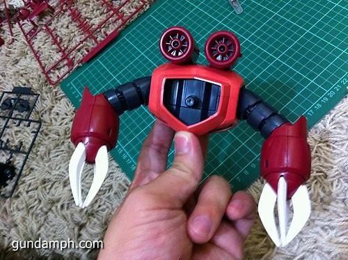 MG Z'Gok Char Custom Review 1/100