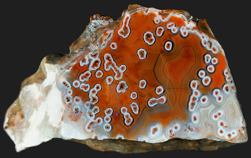Unusual Tube Agate