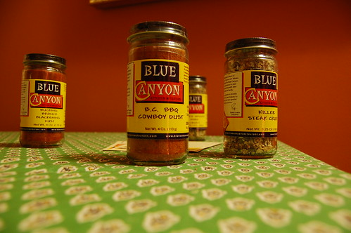 blue canyn spices