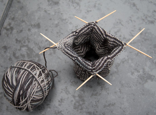 Knitting on Toothpicks