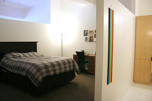 The bedroom & wash room / Oregon rainbow