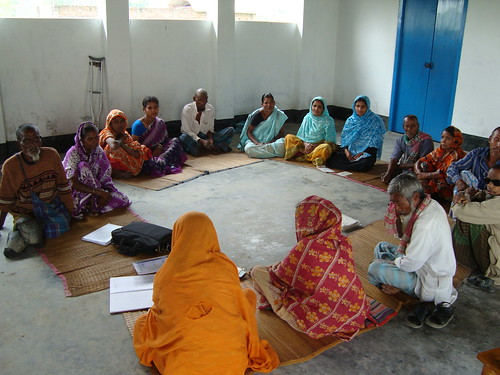 A similar leprosy support group meets near Nilphamari in northern Bangladesh