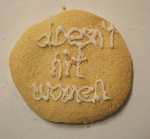 cookie--doesn't hit women