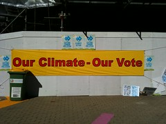 Our climate our vote