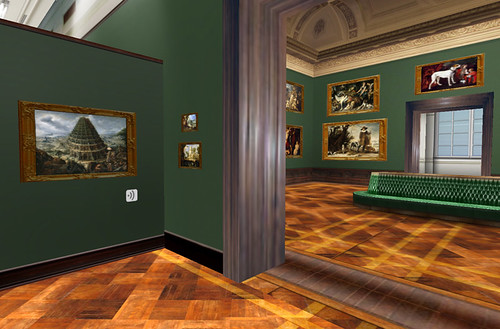 Inside the Dresden Gallery