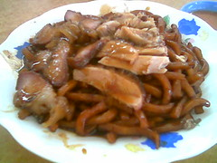 char siew - roast duck noodles