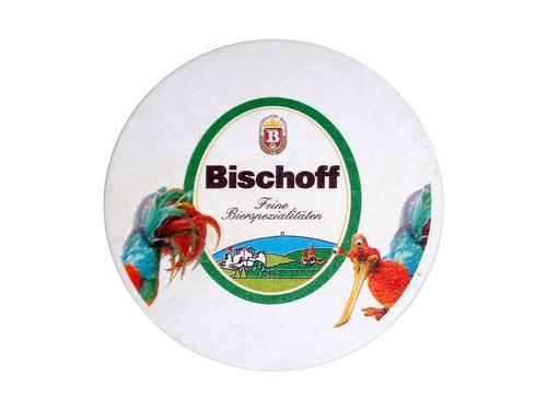 Brauerei Bischoff Bierdeckel oben