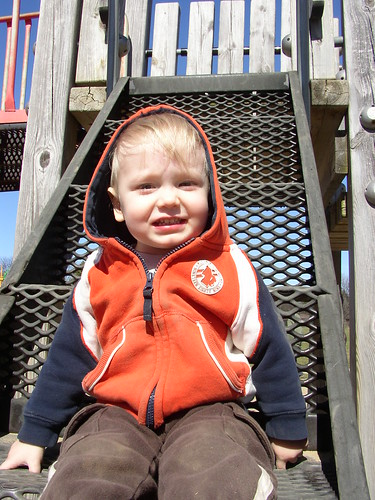 spencer @ playground