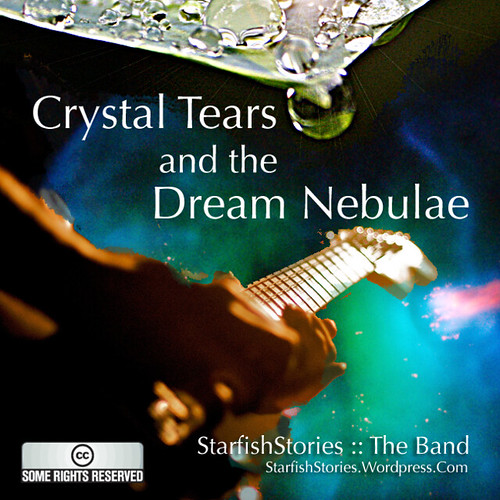"Album cover preview: ""Crystal Tears and the Dream Nebulae"""