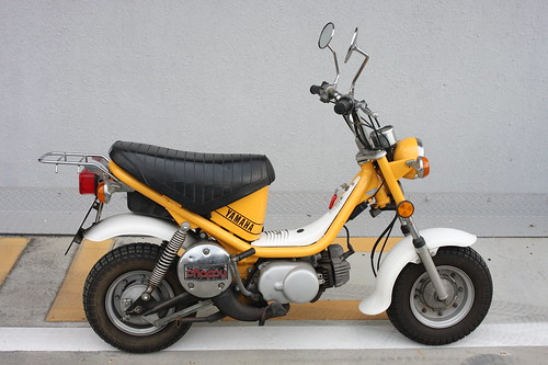 Yamaha Chappy Side View