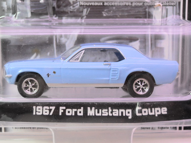 greenlight muscle car garage 1967 Ford Mustang Coupe (2)