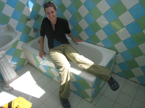 Nina In Pablo Neruda´s Bathtub