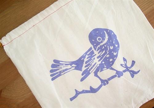 Pretty Cheep Project Bag