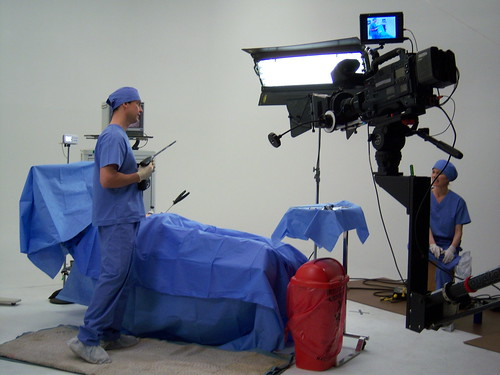 production still from work