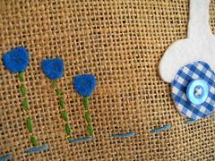 Detalle flores + vespa