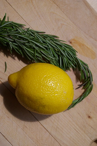 Lemon and Rosemary