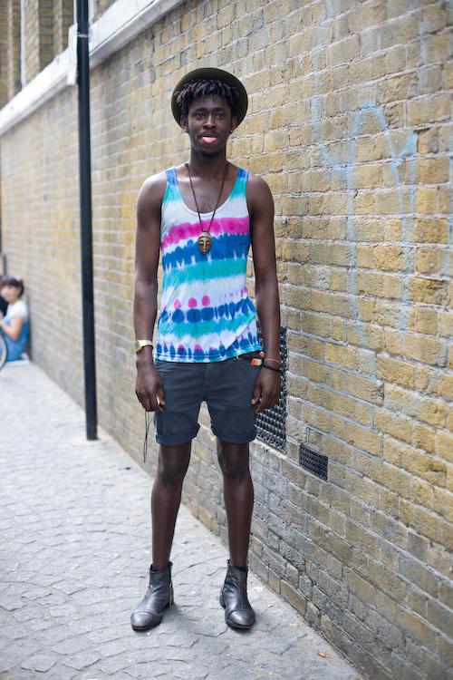 Colour stripes - Brick Lane