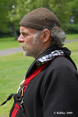 Direct from a skirmish afloat - Plains of Abraham Re-Enactment, Founders Day 2009, Ogdensburg, New York