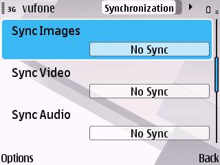 VUFONE Media Options