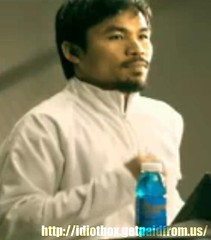 Manny Pacquiao Vitwater Commercial