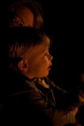 Ellie by Firelight