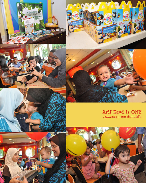 Arif Zayd is ONE! | Birthday Party Photographer Malaysia
