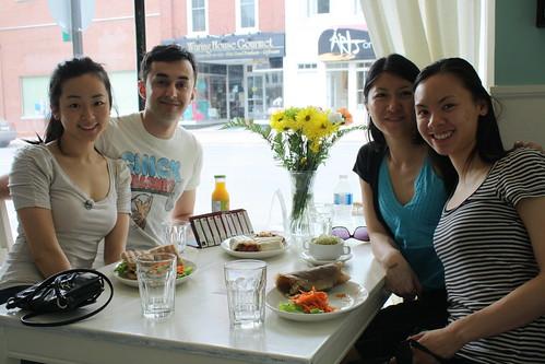 lunch at regent cafe