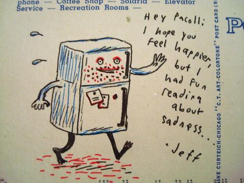 jeffrey brown postcard
