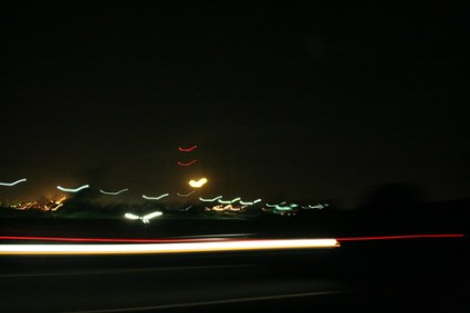 mexico highway night