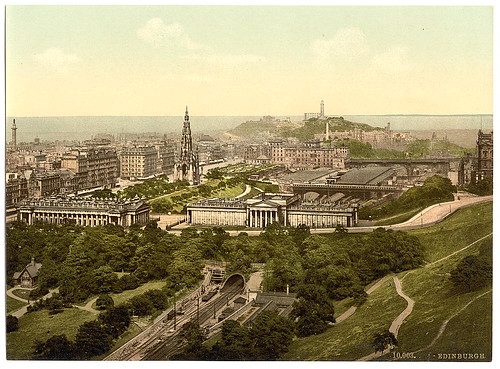 [Edinburgh from the castle, Scotland] (LOC)
