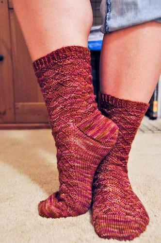 Monkey Socks - FINISHED